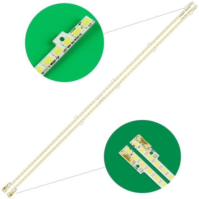 2pcs LED strip 72leds For Samsung 46 2011SVS46 FHD 5K6K RIGHT+LEFT JVG4 460SMB R1 BN64 01644A UE46D5000 UE46D6000 UN46D6000