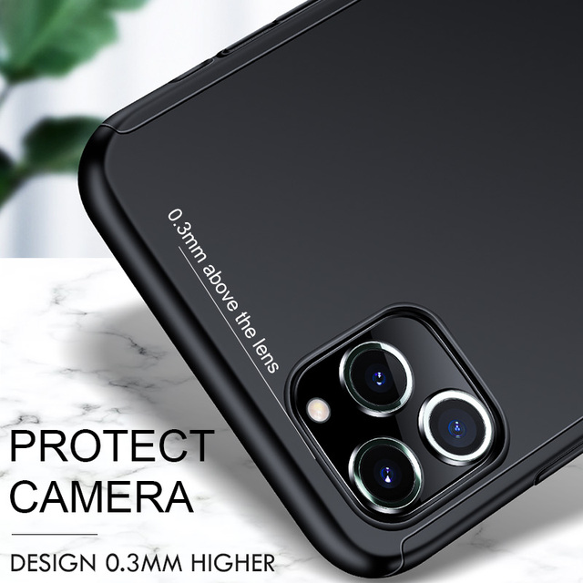 360 Full Cover Case For iPhone SE 2020 11 Pro Max Protective Cover For iPhone 11 XS Max XR X 8 7 6S 6 Plus 5 5S Cover With Glass 3