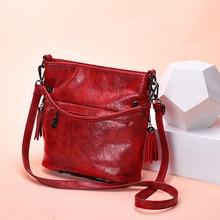 Glorria Luxury Handbags Women Tote Bag Designer Famous Brand Leather Tassel Shou