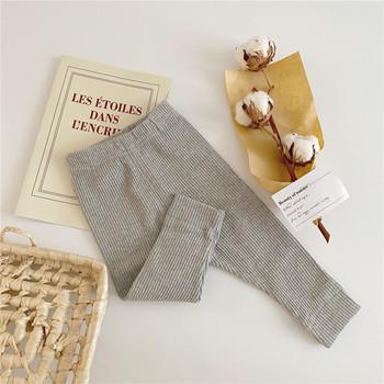 MILANCEL 2020 spodnie dla niemowląt w paski legginsy dziecięce jesienne chłopięce ubrania niemowlę dziewczynki spodnie tanie i dobre opinie Stałe baby REGULAR MIL0712 Pełna długość Unisex COTTON Na co dzień Dobrze pasuje do rozmiaru wybierz swój normalny rozmiar