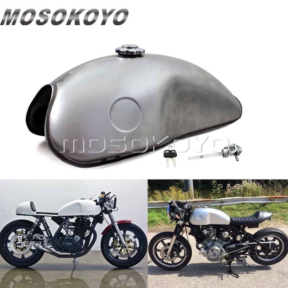 Universale Non verniciato Argento Breve Parafango Anteriore Parafango Parafango Moto Per Honda Yamaha Kawasaki Suzuki BMW Custom