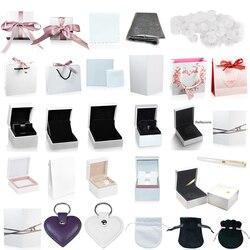FAHMI yüksek kaliteli çekici yüzük küpe bilezik kolye takı koruma kutusu garanti hediye çantası kart aksesuarları anahtarlık kalem