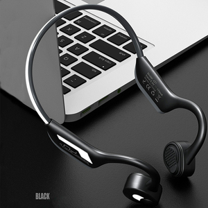 Image 2 - 뼈 전도 이어폰 블루투스 5.0 무선 헤드폰 야외 스포츠 헤드셋 마이크 핸즈프리 헤드셋