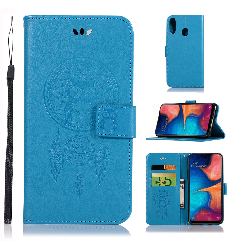 Flip Leather Wallet Bag For <font><b>Samsung</b></font> <font><b>Galaxy</b></font> A20S <font><b>SM</b></font>-A207F A20 S <font><b>A20e</b></font> <font><b>SM</b></font>-<font><b>A202F</b></font> Case A20 <font><b>SM</b></font>-A205F Mobile Phone Cover Pouch image