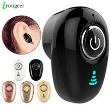 Mini auriculares inalámbricos S650 con Bluetooth, dispositivo intrauditivo Invisible, manos libres, estéreo con micrófono para iPhone 11, Huawei, Mate 30