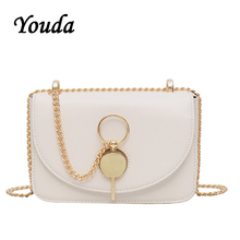 Youda 2019 Summer New Fashion Simple Shoulder Bag Chain Strap Classic Retro Handbag Original Literary Leisure Crossbody Tote