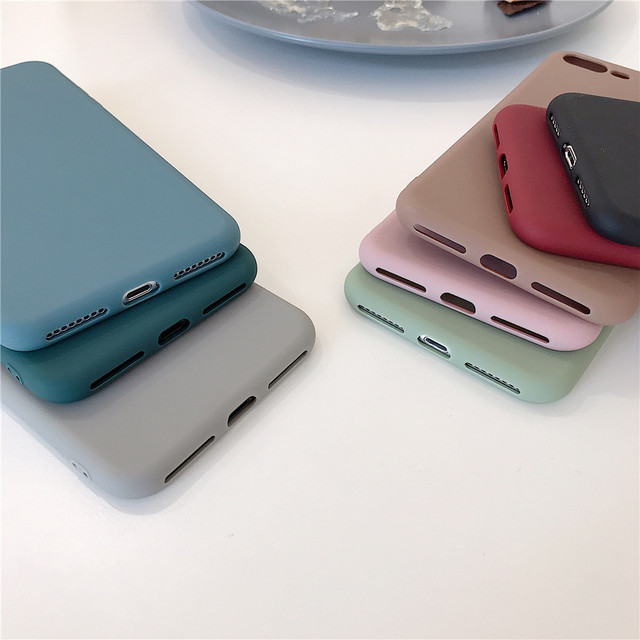 Candy Color Silicone Case For Samsung Galaxy A50 A51 A40 A70 A71 M10 M20 A10 A20 A30 M30 A10E A20E A10S A20S A30S A40 M30S Cover 6