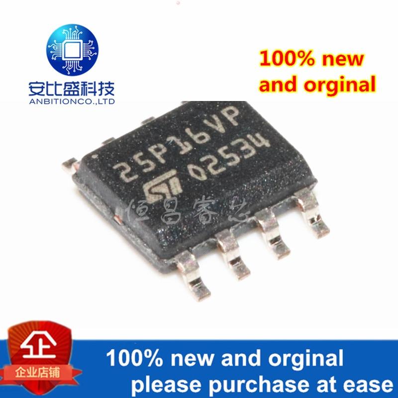 2pcs 100% New And Orginal M25P16-VMN6TP Silk-screen 25P16VP M25P16 SOP8 In Stock