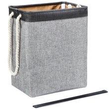 Корзина для белья складная корзина вместительная сумка хранения