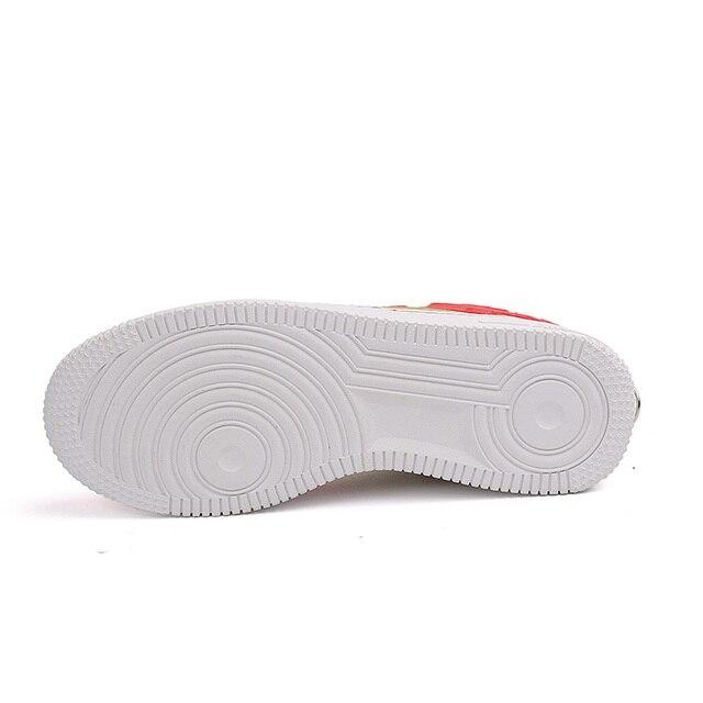 Zapatillas de deporte altas suaves, cómodas y transpirables, zapatos informales antideslizantes resistentes al desgaste para exteriores, nuevo estilo 5