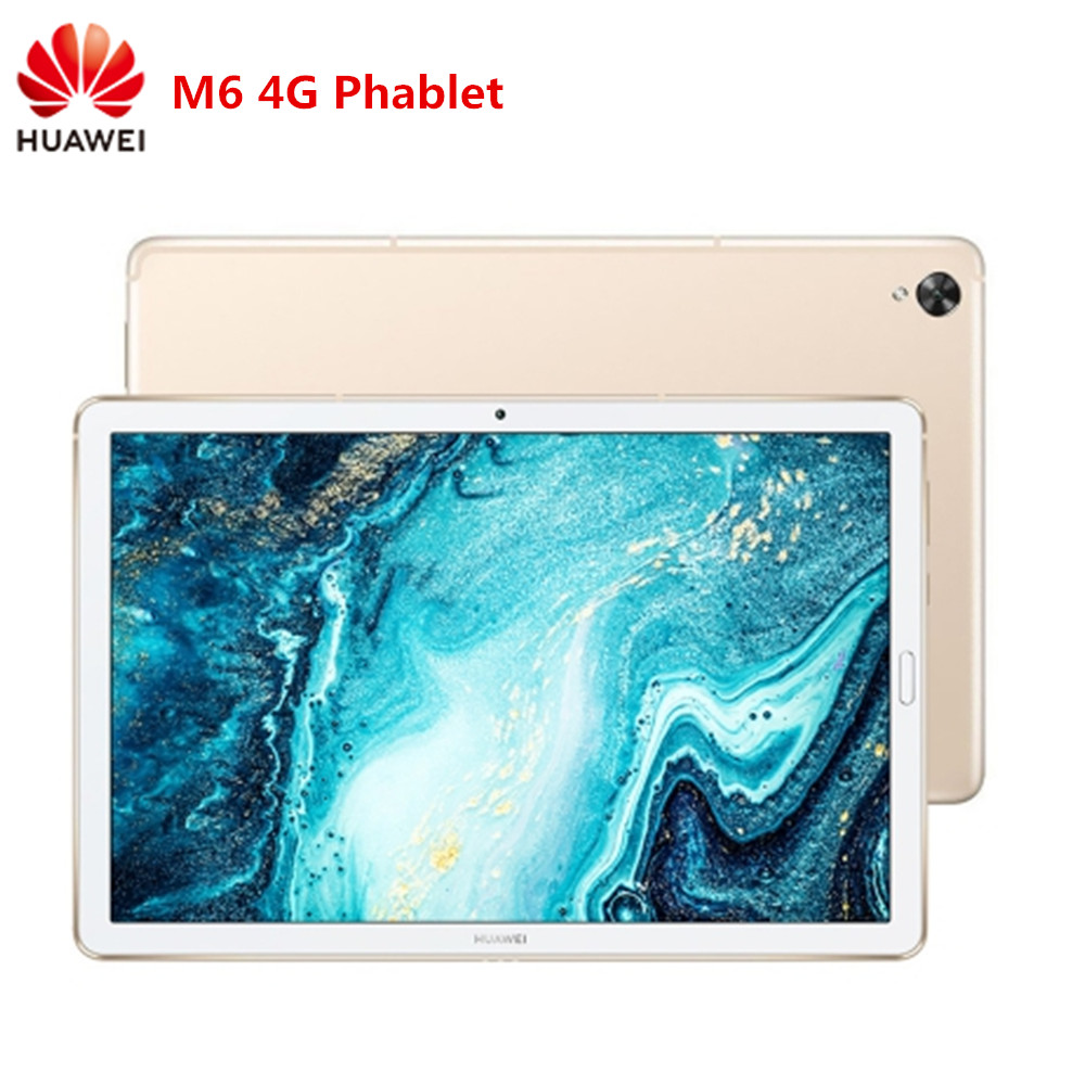 HUAWEI M6 4G Phablet Tablet PC 8.4 10.8 Inch Android 9.0 OS Hisilicon Kirin 980 Octa Core 4G RAM 64/128 ROM Huawei M6 Tablet PC
