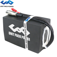 UPP 36V 48V 20Ah Black PVC Battery Pack 960Wh&720Wh Electric eScooter Batteries for Bafang