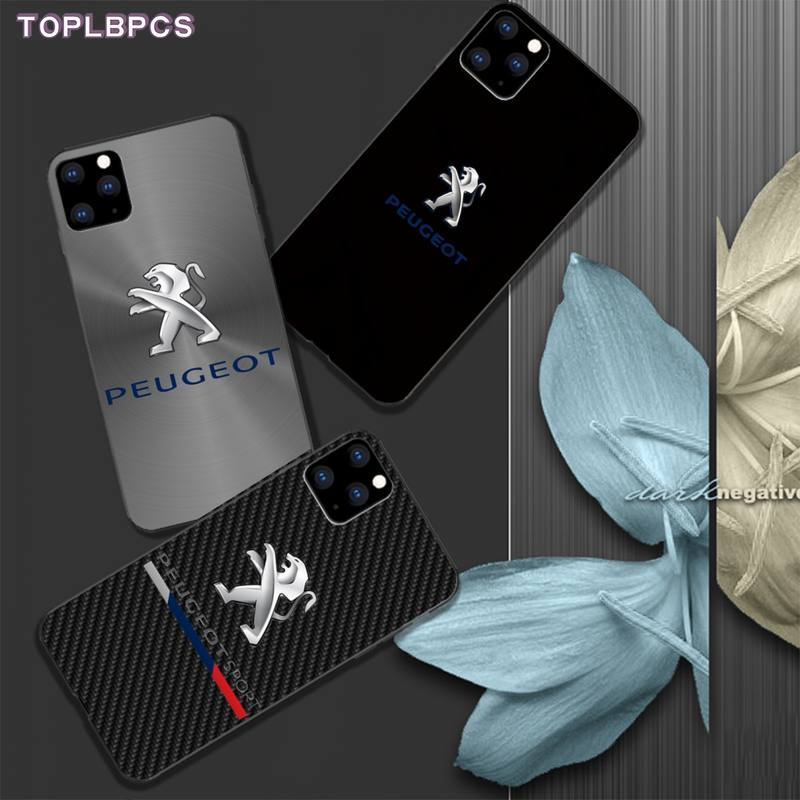 TOPLBCS Phone <font><b>case</b></font> for Dongfeng Peugeot mobile phone <font><b>case</b></font> cover for <font><b>iphone</b></font> 5s se 2020 6 6s 7 8 plus <font><b>x</b></font> <font><b>xs</b></font> max xr 11 pro max funda image