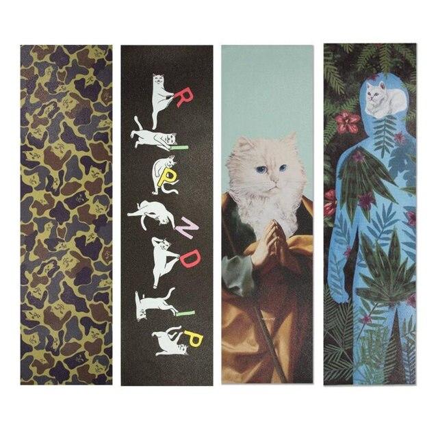"USA Marke Skateboard Griff band 9x33 ""Siliziumkarbid Skateboard Schleifpapier Für Roller Mini Longboard Griptapes"