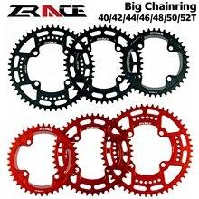 Zrace 40 t/42 t/44 t/46 t/48 t/50 t/52 t bcd104, largura estreita do dente al7075 cnc, mtb/estrada/foldingbike/cascalho-bicicletas