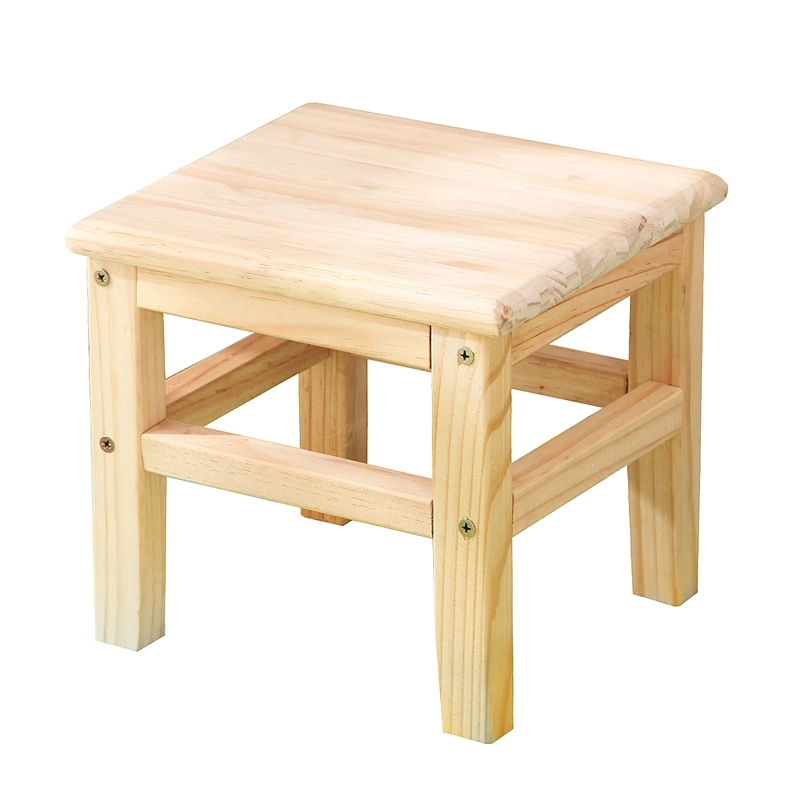 Solid wood stool round stool small bench fashion creative small chair shoe stool square stool small stool