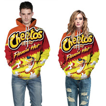 Snack 3D Print Mens Autumn Designer Hoodies Long Sleeve Female Festival Couple Womens Clothing Fashion Style Casual Apparel
