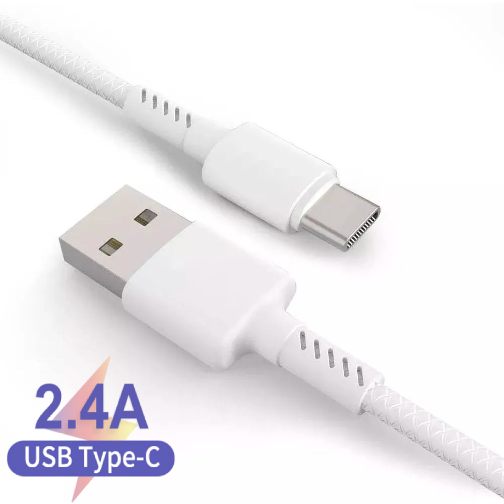 Saiyo Kit <font><b>2</b></font> USB type C cable USB-C mobile phone fast charging USB charger cable for Samsung Galaxy s9 Huawei image