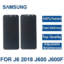 100 Tested For SAMSUNG Galaxy J6 2018 lcd J600 J60
