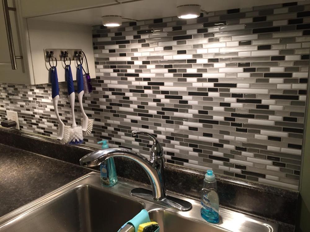 Peel And Stick Tiles Kitchen Backsplash Smart Waterproof Brick Adhesive Mosaic Wall 3d Wallpaper Wall Stickers Aliexpress