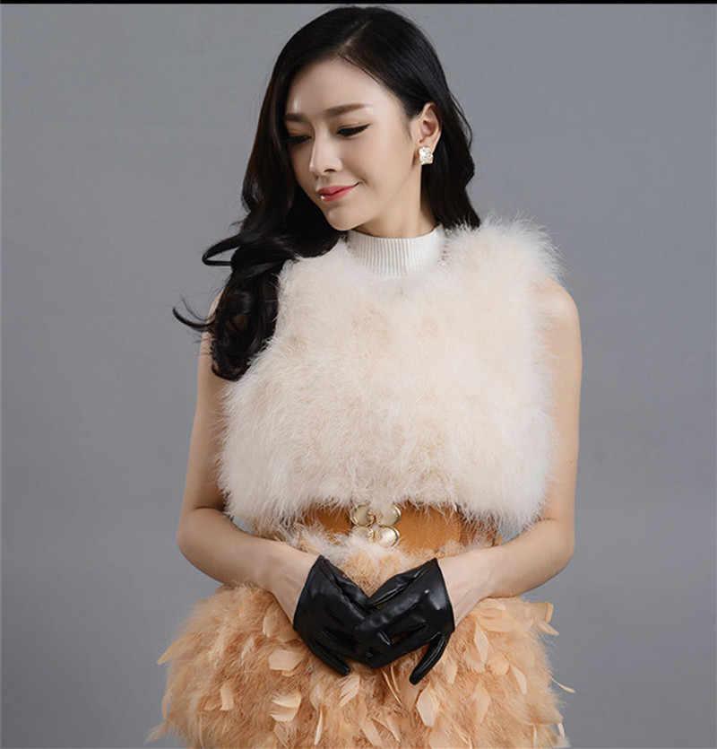Faux moda damska futro kamizelka zimowe ciepłe płaszcze damskie kamizelki eleganckie futra damskie płaszcze damskie grubsze Faux kurtki WXF034 s s s