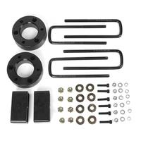 3in Front and 2in Rear Leveling Lift Kit Black Fits for Silverado Sierra 1500 4WD 2WD 07 19 Auto Accessories