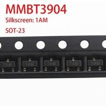 100PCS MMBT3904 SOT23 3904 SOT 2N3904 SMD SOT-23 1AM new transistor