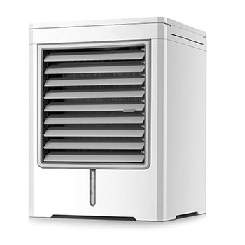 USB Portable Mini Air Conditioner Water Cooling Fan Artic Air Cooler Humidifier LED Cooler Fan Air Cooling Fan Device speed adjustable tower fan mute bladeless fan portable floor stand ventilation fan cooling fan with timer air conditioner 35w