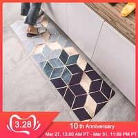 RFWCAK Küche Teppiche PVC Leder Fußmatten Große Boden Teppiche Fußmatten Schlafzimmer Tatami Wasserdicht Ölbeständiges Küche Teppiche