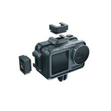 PGYTECH OSMO 액션 카메라 케이지 보호 케이스 DJI Osmo 액션 스포츠 카메라 프레임 커버 셸 하우징 액세서리