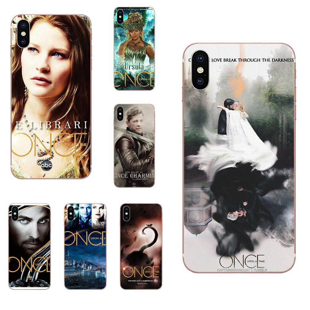 Once Upon A Time Poster Soft Silicone TPU Transparent Coque Case For Apple iPhone 4 4S