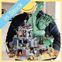 Em estoque 45014 3560 peças filme 2 série bem-vindo ao modelo de blocos de construção de apocalypseburg tijolos brinquedos criança presentes de natal 70840