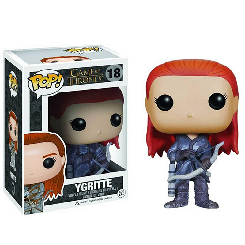 Funko Pop New Arrival Game of Thrones:Ygritte <font><b>18</b></font># Vinyl Action <font><b>Figures</b></font> Collectible Model Toys For Children Boy Girl Gifts image