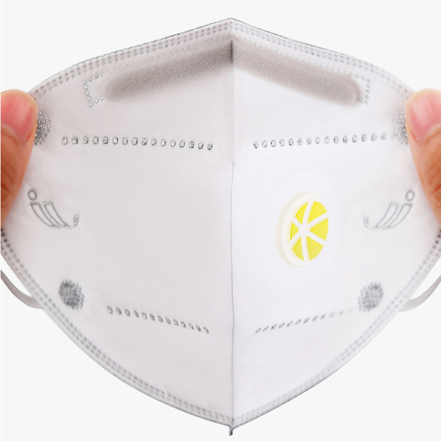 N95 N99 Reusable Masks Valved Face Mask 6 Layers Filter Bacterial Flu Protection Face Mask Mouth Cover Pm2.5 Anti-Dust Masks 4