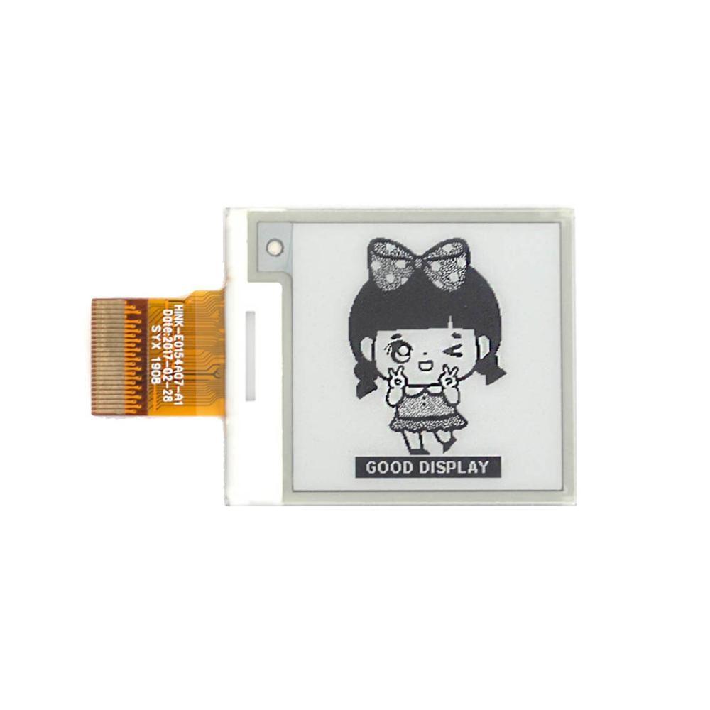 1,54 дюймовый дисплей e-ink с 200x200 разрешением e-paper display
