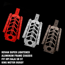 Rovan супер облегченный алюминиевый каркас шасси подходит HPI Baja 5b 5t King мотор багги для 1/5 масштаб HPI 5t 5SC 2WD Запчасти для газового грузовика