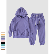 Boys Girls Clothes Suit 2021 Spring New Sports Hoodie Sweatpants Set for Boys Sportswear 8 10 12 13 Years Teens Kids Tracksuit