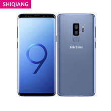 Unlocked Used  Samsung Galaxy S9+ S9 Plus LTE Android Mobile Phone Octa Core 6.2in 12.0MP 6GB&64GB Fast Charge Cell phones NFC
