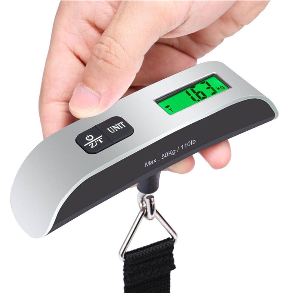 1-10g 50Kg Mini Digital Scale Electronic Hanging Luggage Balance Weight VS