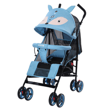 Baby-Stroller Free-Ultra-Light-Landscape Lightweight Folding Stroller Reclining Shock Absorber Children's Trolley