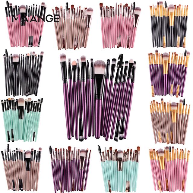 5Pcs Makeup Brushes Set Eye Shadow Foundation Powder Eyeliner Eyelash Lip Make Up Brush Cosmetic Beauty Tool Kit Hot