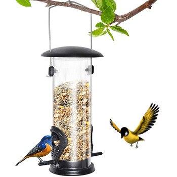 H ngen Wilden Vogel Samen Feeder Vogel F tterung Werkzeug Garten Paddock Outdoor Dekoration Pet Liefert