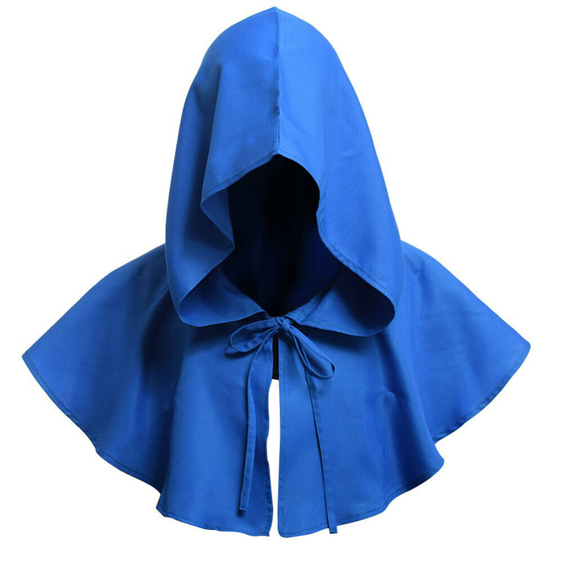 Parties Cosplay Death Cloak Costumes Halloween Carnival Adults Hooded Cloak Retro Renaissance Priest Witch Wizard Devil Cape Hot