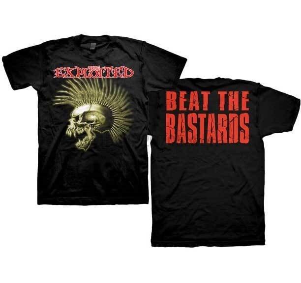 The Exploited Beat The Bastards Men T Shirt 015647