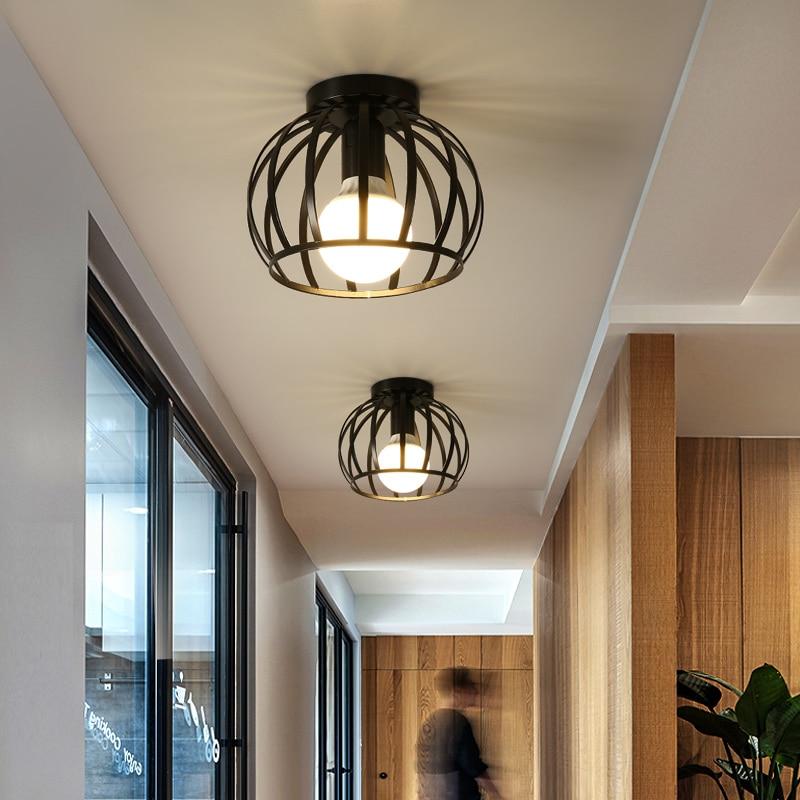 lowest price LED Chandelier Lighting Fixtures Lustre Vintage Led Lamp Industrial Kitchen Living Room Black Avize Modern Plafonnier Night Lamp