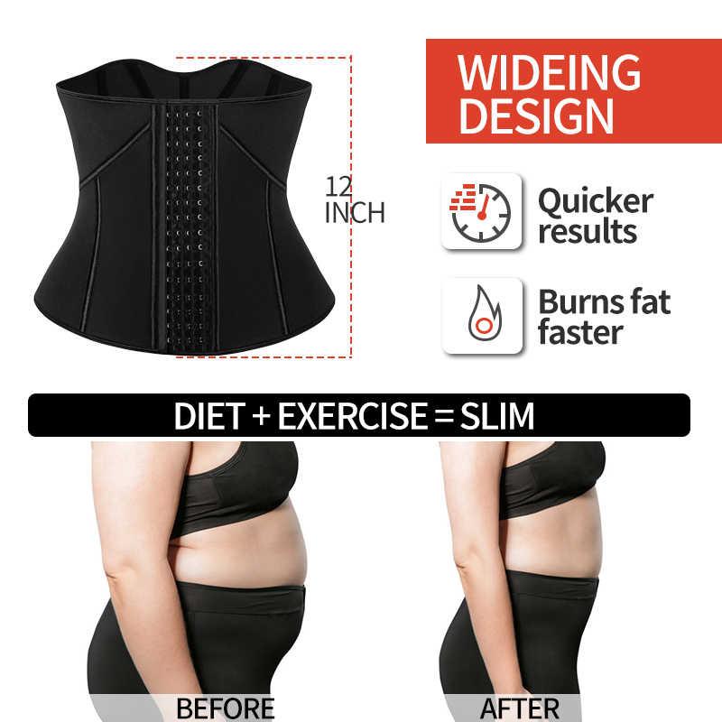 Vrouwen Neopreen Taille Trainer Korsetten Taille Cincher Body Shaper Sport Gordel Gewichtsverlies Afslanken Sauna Zweet Riem Shapewear