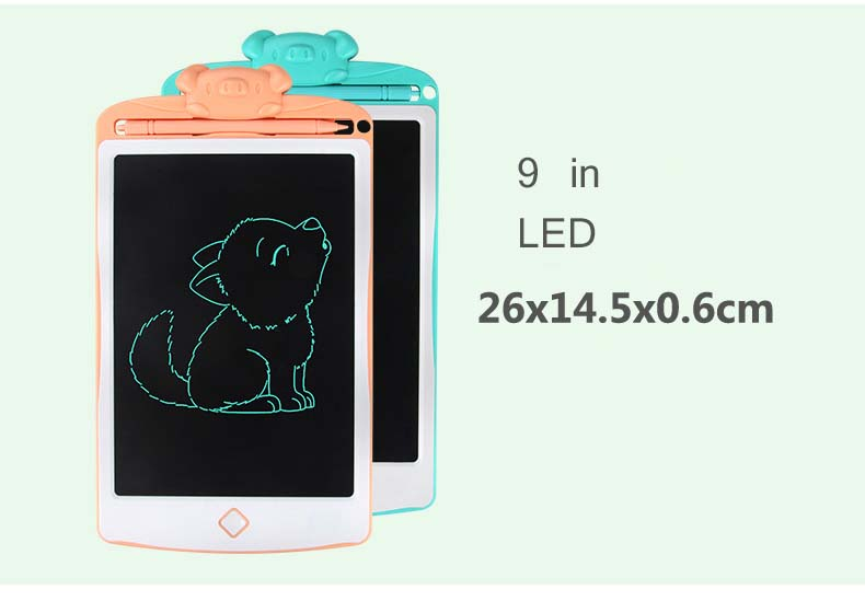hevare Light Energy Childrens Writing Board Electronic LCD Painting Board Graphics Tablets