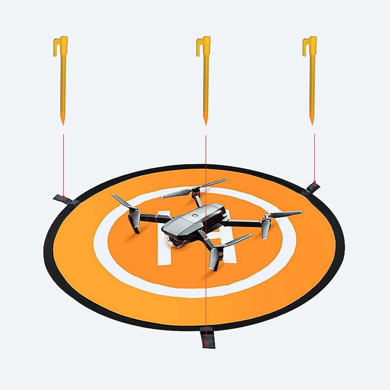 Portable Fast-fold Landing Pad Drone Parking Apron 75cm Take Off Landing Station for DJI Mavic Mini/Pro/Air 2 Eachine E58 X8 SE