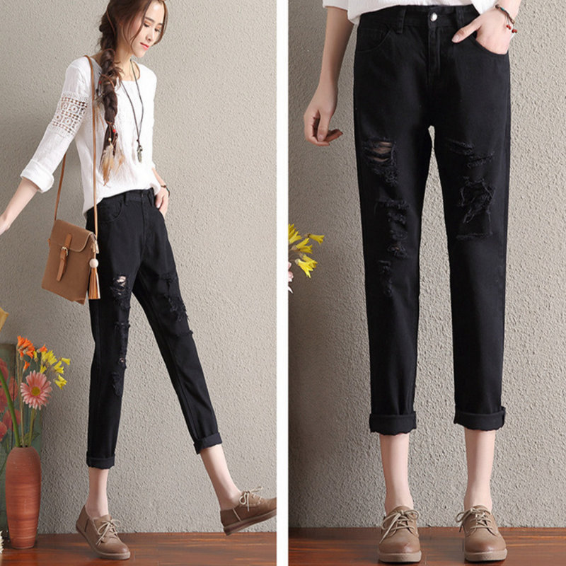 2020 New Style Summer Solid Woman Casual  Pencil Pants BM926