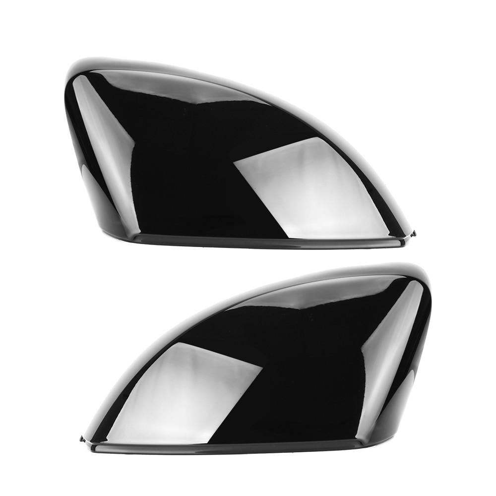 2 шт. Замена бокового зеркала крышки для Audi A3 S3 8V RS3 глянцевый жемчуг черный 2013 2014 2015 2016 2018 2017 2019